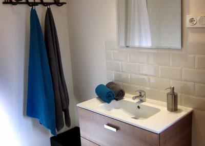 Baño en suite de la habitación principal